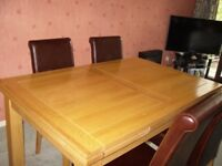 Oak Dinning Table And ChairsOak In Preston Lancashire Dining Tables Chairs For Sale Gumtree