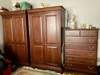 Bedroom Furniture 6 set from the Canadian Embassy , Solid Maple Wood.