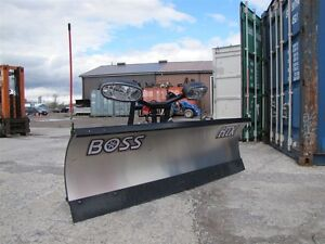 2016 BOSS 7ft6in HTX STAINLESS PLOW Peterborough Peterborough Area image 2