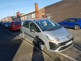 citroen grand picasso 2007 petrol low millage
