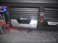 V12 mono block alpine amp 2000w