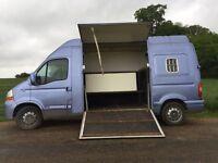 Renault Master Horse Van Conversion