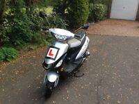 50cc Scooter (12 Months MOT)