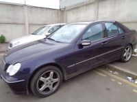 BREAKING MERCEDES C320 3.2CC W203 - ALL SPARES AVAILABLE - ALLOYS? DOOR? BUMPER? SEATS? WING? MIRROR