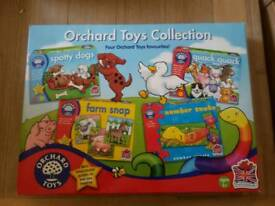 NEW ORCHARD 4 IN 1 GAMES AND PUZZLES