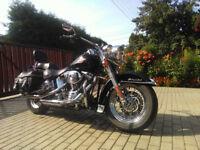Harley Davidson Softail Heritage 1450, not dyna road king sportster
