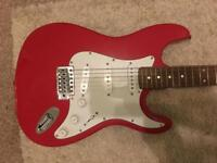 Squier Stratocaster Electric Guitar. Ideal starter guitar.