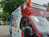 Ford, TRANSIT Smiley Ice cream van