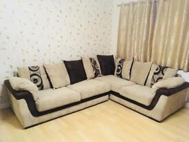 SCS fabric sofa Zamba RHS