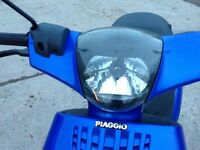 2008 Piaggio Zip 100cc 4T Scooter - Fully Serviced, MOT, Engine Rebuilt, Many New Parts - Ride Away