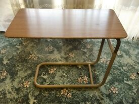 Retro Adjustable Bed Side Table
