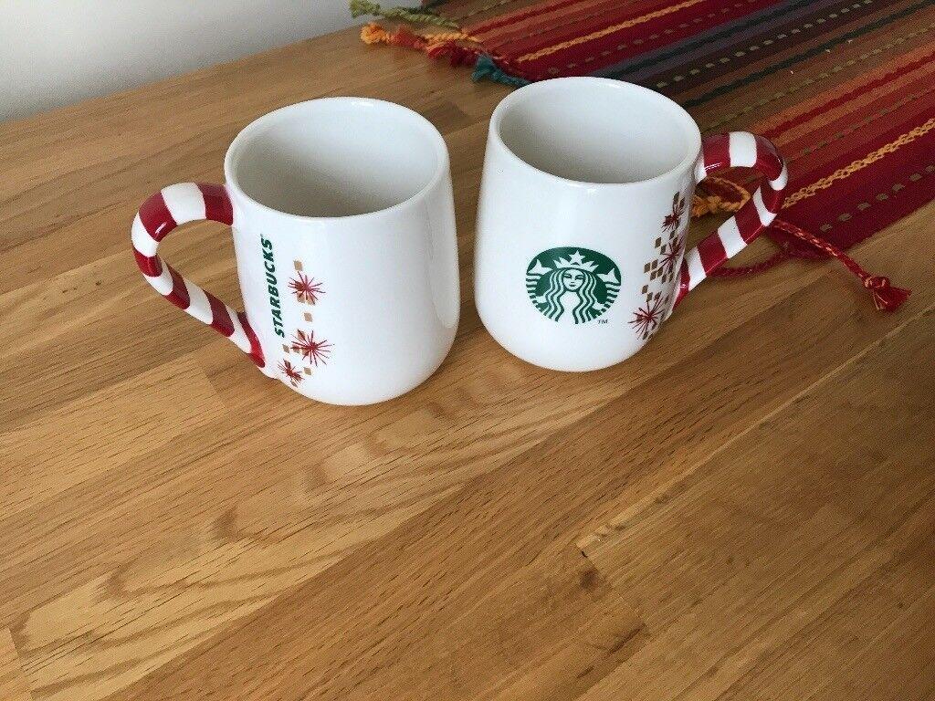 Starbucks Christmas Coffee Mugs.Starbucks Christmas Coffee Mugs Never Used In Canary Wharf London Gumtree