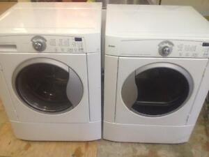 4- Laveuse Sécheuse Frontales KENMORE   Frontload Washer Dryer