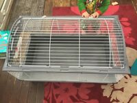 Extra large indoor hutch cage