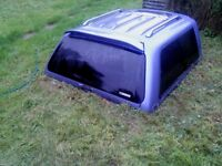 Mitsubishi L200 Rear Canopy for Double Cab 98 -06.
