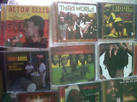 REGGAE CD COLLECTION*****HIGHLY RESELLABLE******DISC CONDITIONS***NEAR MINT !!