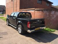 Excellent condition Nissan navara. New mot, new tyres, recently serviced and lockable rear lid