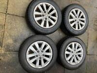 "16"" 17"" VW Transporter T6 T5 Alloy Wheels excellent Tyres"