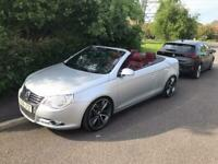 HUGE SPEC VW Eos 2.0 TDI sport 6 speed manual convertible coupe BETTER THAN A GOLF !