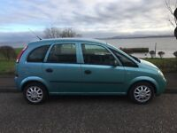 2003 Vauxhall meriva 1.6 12 months mot. Lots of history/ new parts. CD player. Great car!