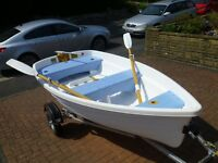 Walker Bay 10 in excellent condition with performance sail kit & oars on an Admiral road trailer