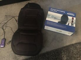 Massaging car seat cover