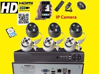 HD CCTV NVR 8CH HDMI 6 In/ Outdoor 1.3Mp IR Video Camera Security 2TB System Kit
