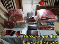 Bags and sarees
