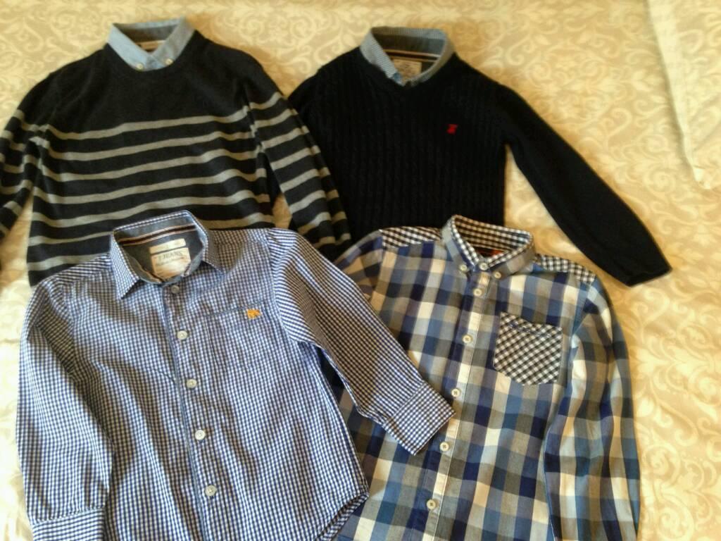 Age 5-6 very smart boys clothes bundle.
