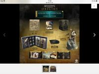 Assassins Creed Origins Gods Deluxe Limited Collectors Edition Xbox One NEW
