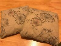 Pair of Dunelm cushions