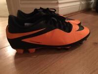 Nike football boots (hyper venoms)