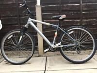 Raleigh mountain bike with suspension