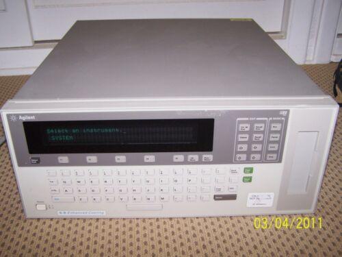 Agilent E1301B VXI Mainframe  9-slots