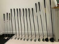 Golf clubs/bag/trolley