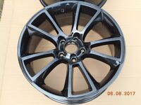 Black 18 x 8J alloys boxed BRAND NEW # 2 only # japan made