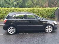 2009, Kia Rio Black Edition 1.4i, Long MOT, really Clean, 3 stamps in the SH