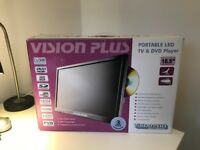 Vision Plus Portable LED HD TV and DVD Player 18.5''