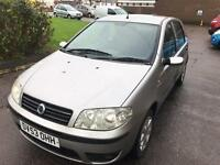 2004 Fiat PUNTO LOW MILES PERFECT DRIVE MOT TAX