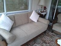 Bergere Suite comprising sofa and two matching arm chairs