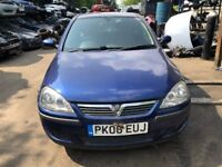2006 Vauxhall Corsa Sxi 16v Twinport 3dr 1.4 Petrol Blue BREAKING FOR SPARES