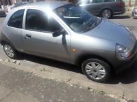 silver hatchback low mileage ford ka.....
