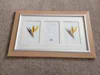 Wood photo frame 16 x 9 (photo size 6 x4)