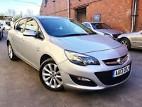 2013 VAUXHALL ASTRA 1.4 ACTIVE 5DR,10600 MILES,FULL VAUXHALL SERVICE HISTORY,NEW MOT,BARGAIN.