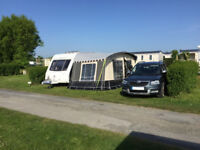Caravan Awning. Kampa Arc , Used twice on a Swift 480, about 5m wide, Excellent condition