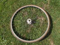 Vintage Carlton Race Bike 27 x 1 1/4 Wheel Normandy Hub Rigida Chromo Rim
