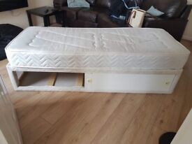 Small bed £45 2 ft 9 inch by 6 ft 6 inch