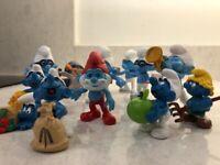 Smurfs Mini Figures for Sale