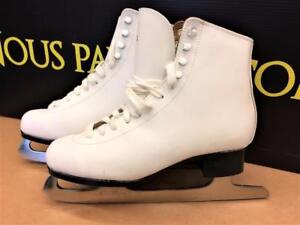 Patins à glace de fantaisie femmes gr:4 ***Excellente Condition*** #F019492