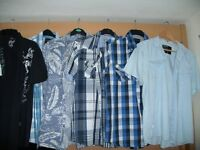 Men`s Shirts bundle in large and XL, hardly worn.